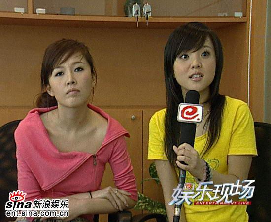 《娱乐现场》预告:超女唐笑阳蕾签约天娱(图)