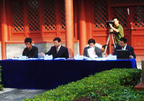 创业也要敢秀:《创智赢家》北京赛区面试开始