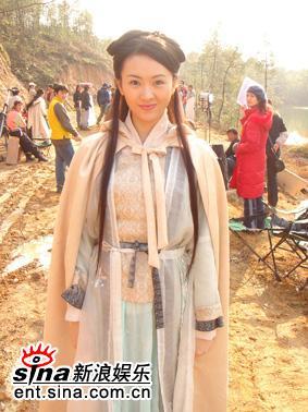 《少年杨家将》赴台湾童谣被认成章子怡(组图)