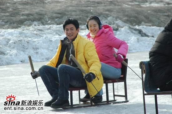 吴奇隆左小青《大约在冬季》在哈尔滨顺利开机