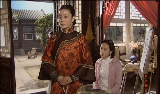 傅淼与《京华烟云》中外冷内热的潘妈妈(组图)