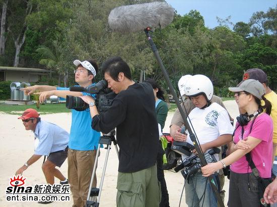青春之星澳洲拍摄外景新浪娱乐全程报道(组图)