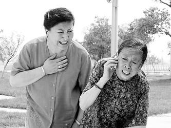 《半路夫妻》收视飘红孙红雷跺脚演吻戏(组图)