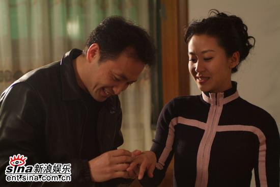 丁志诚拍《女人的选择》出演深情好男人(组图)