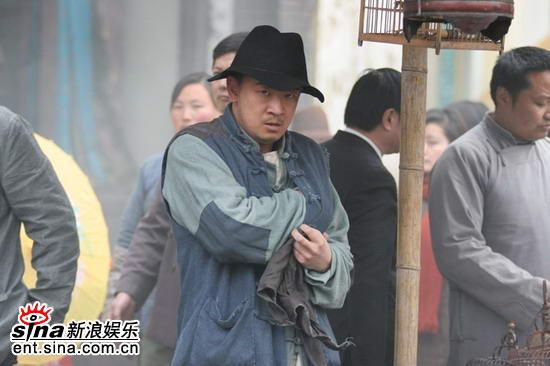 《新上海滩》再添星光黄海波演技获肯定(组图)