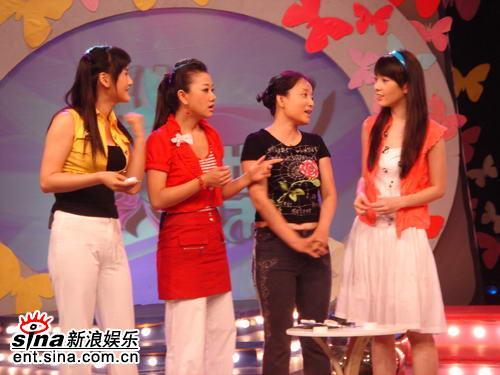 王岩做客美容节目《化蝶》教你健康瘦身(组图)