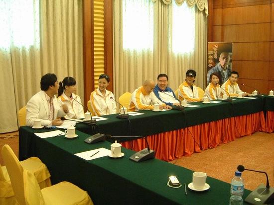 组图:《黄飞鸿五大弟子》在京举行媒体见面会