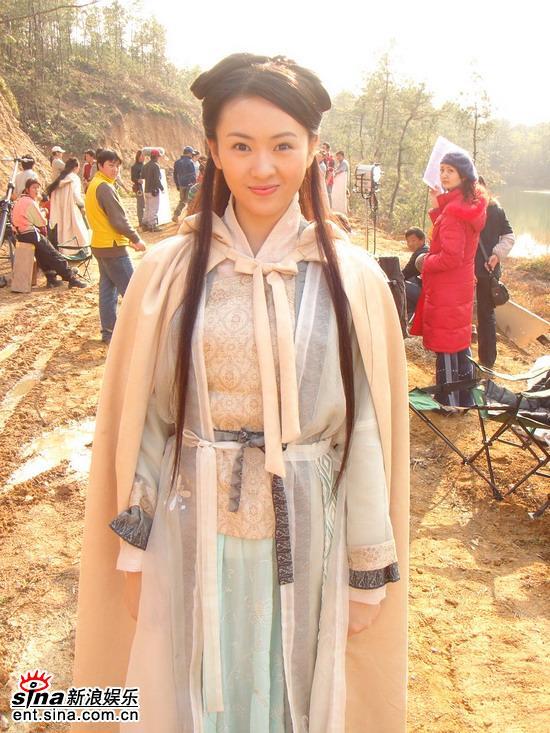 童瑶出演第一部古装戏《少年杨家将》(组图)