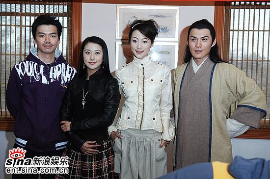 组图:电视剧《聊斋2》在上海正式开机