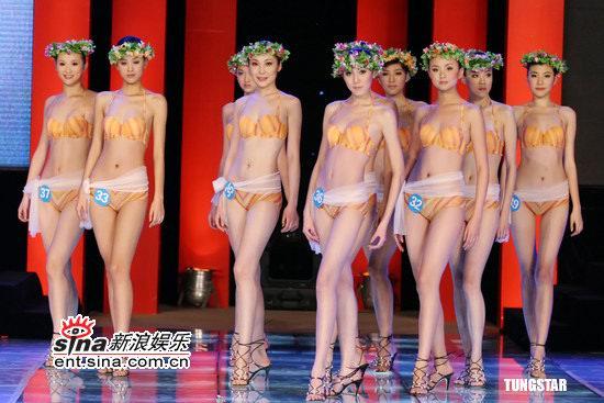 组图:中国内衣模特大赛开赛
