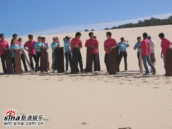 图文:青春之星农庄之旅--所有选手完成了任务