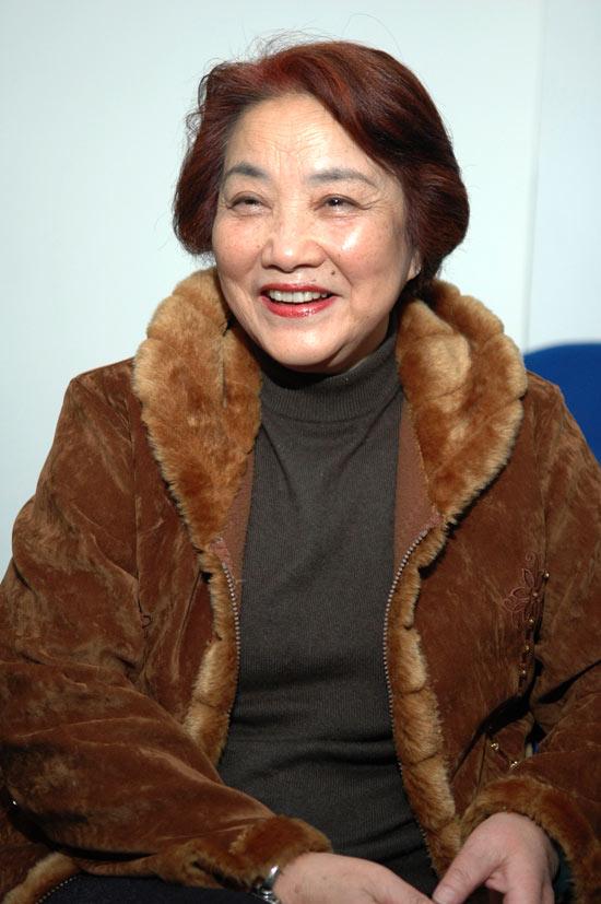 图文:《老人的故事》转战上海--祝希娟