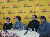 导演胡玫携三位主创新浪聊《乔家大院》(组图)