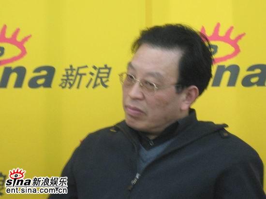 图文:《乔家大院》主创聊天--编剧朱秀海