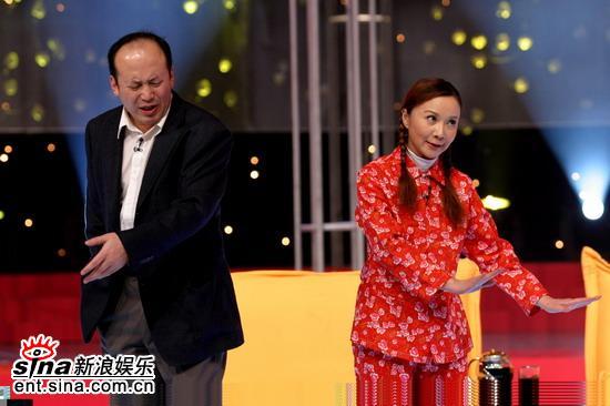 图文:《欢乐中国行》春节特别节目--郭达蔡明