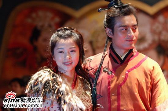图文:《少年杨家将》开机仪式--陈龙与魏小军
