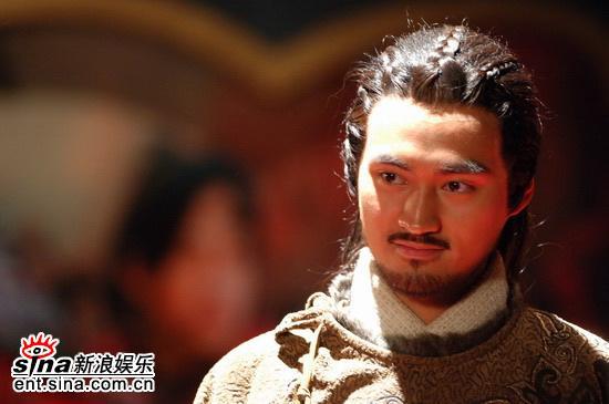 图文:《少年杨家将》开机仪式--袁弘
