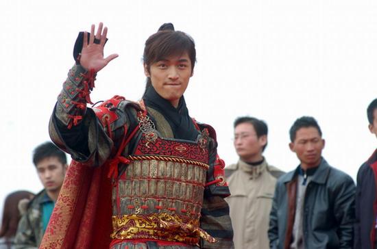 图文:《少年杨家将》发布会--胡歌