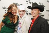 组图:美GLAAD纽约颁奖礼举行李安携夫人出席