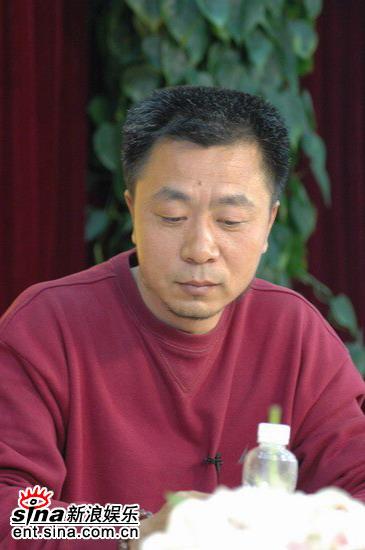 图文:《玉碎》主创做客新浪--导演张晓光