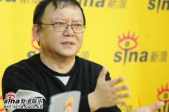 主演王刚导演张晓光做客新浪聊《玉碎》(组图)