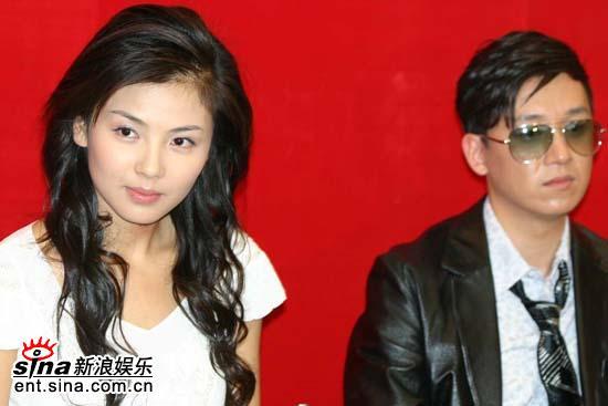 图文:《白蛇传》首播发布会--刘涛和潘粤明