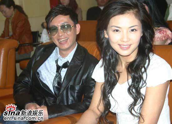 图文:《白蛇传》首播发布会--潘粤明和刘涛