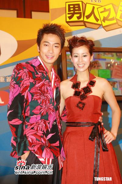 图文:TVB《男人之苦》宣传--吴卓羲和梁靖琪
