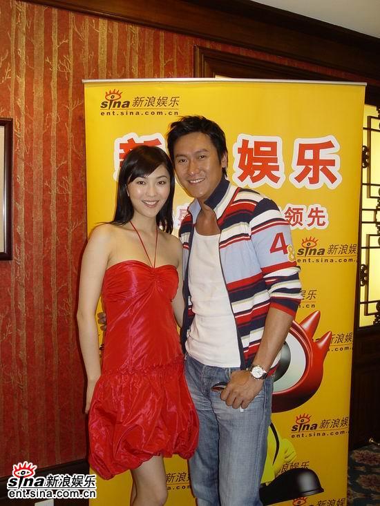 图文:独家对话《争霸传奇》主演--闫勤和马德钟