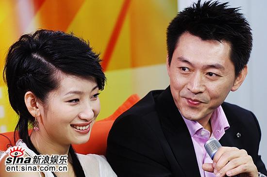 图文:《谢谢你曾经爱过我》宣传--秦海璐庹宗华