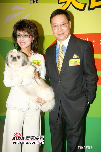 图文:TVB《突围行动》-米雪和岳华