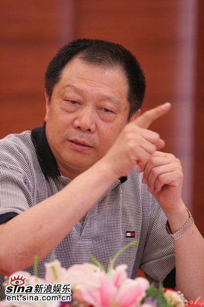 图文:李培森谈反腐败题材剧要重进黄金档