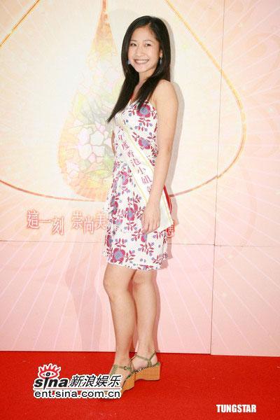 组图:2006年度香港小姐14号候选佳丽李颖芝