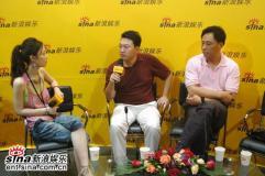 奥映国际传媒老总成辛杨凡做客新浪谈业界动态