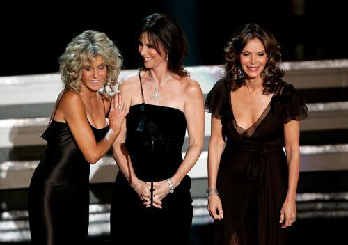 图文:艾美奖颁奖现场星光灿烂三个女人一台戏