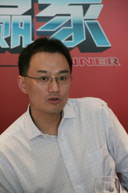 图文:《创智赢家》第二季-东方卫视总经理徐威