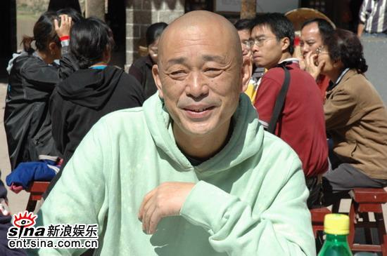 图文:《黄河九十九道弯》开机--著名编剧庞一川