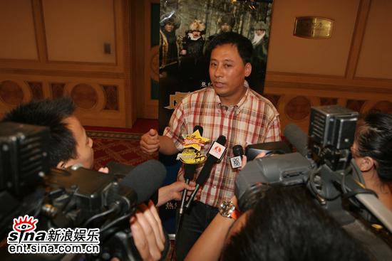 图文:《虎踞龙盘》发布会--杨凡成为媒体焦点