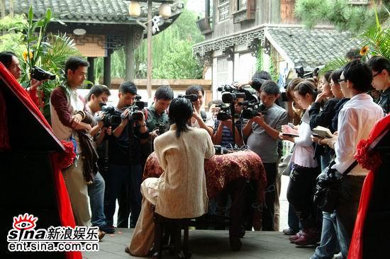 图文:动作剧《咏春》即将杀青--人气王谢霆锋