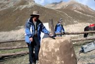 组图:《戈壁母亲》新疆探班手记天山降大雪