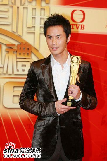 图文:TVB39周年台庆--郑嘉颖获得最佳男主角