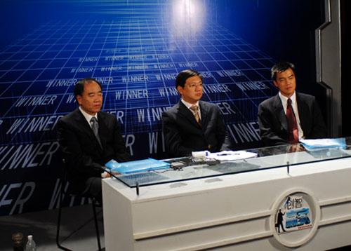 图文:3位专业评委选出了一个淘汰候选人