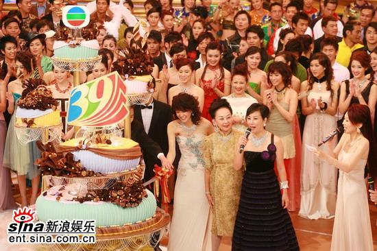 图文:TVB万千星辉贺台庆--汪明荃贺生日快乐