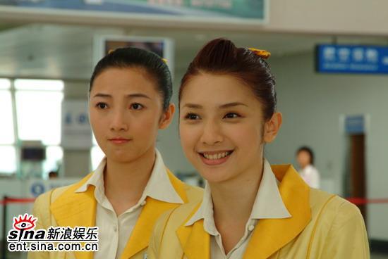 图文:许玮伦《想飞》剧照--空姐的风范