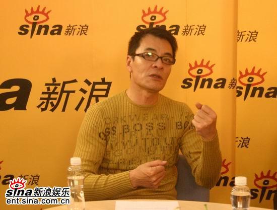 图文:《秦始皇》主演史学家聊天--刘威谈表演