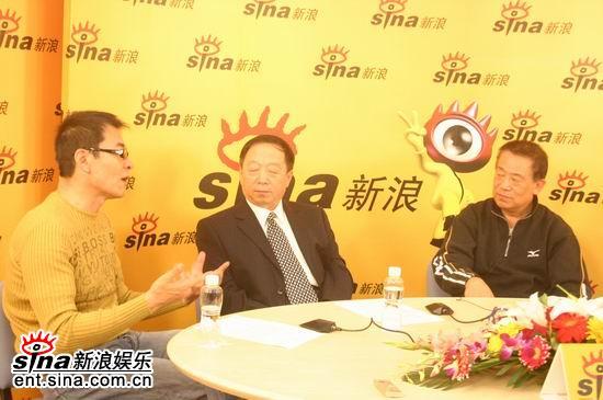 图文:《秦始皇》主演史学家聊天--刘威回忆拍戏