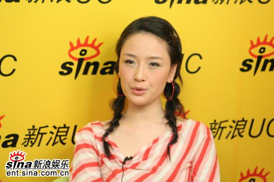 图文:《滇西往事》主创做客新浪--女主角孙宁