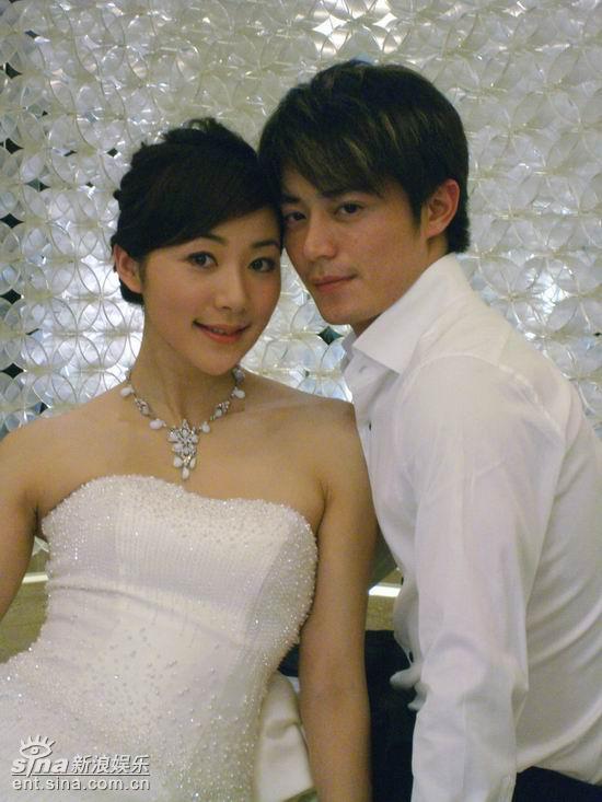 图文:《爱情占线》韩雪披婚纱--韩雪和霍建华