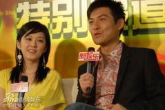人气偶像张娜拉严宽上海电视节聊《纯白之恋》