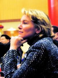 专访法国资深电视主持人爱丽丝・鲁塞特(附图)